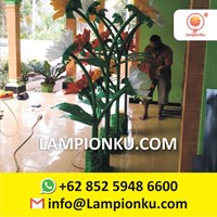 Jual Lampu Hias Taman Model Bunga Kota Malang 2