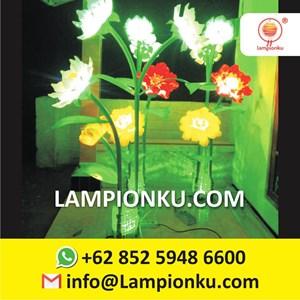 Lampu Hias Taman Model Bunga Kota Malang