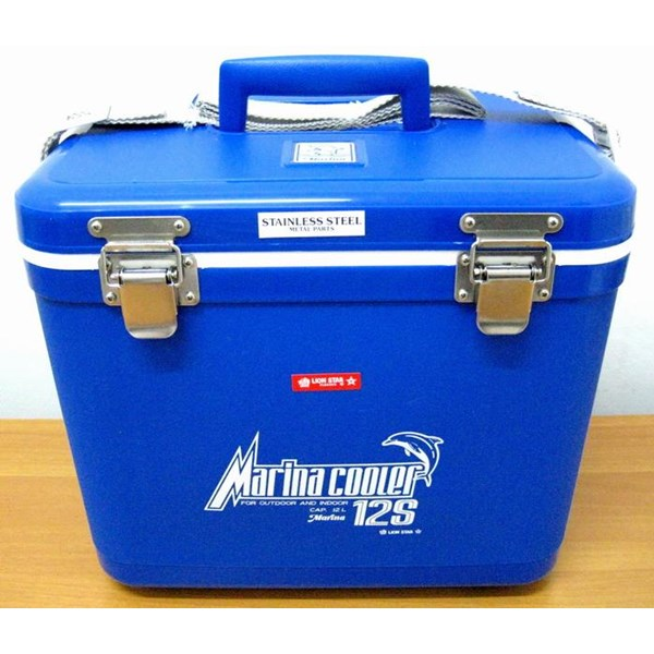 Cool Box Kotak Pendingin Merk MARINA 12 Liter Warna Biru - Abu