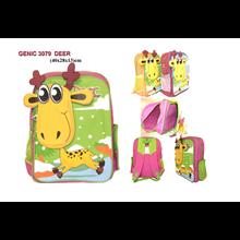 Tas Sekolah Genic 3079 Deer Lucu - Tas Sekolah Anak