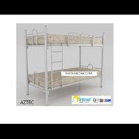 Tempat Tidur Ranjang Besi Susun ORBITREND AZTEC