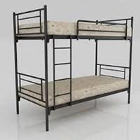 Bed Merk Orbitrend D-Square Ranjang Susun Hitam 1