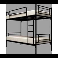 Jual Bed Merk Orbitrend D-Square Ranjang Susun Hitam 2