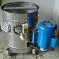Spiner Mesin Pengering Minyak MUAT 3.5 KG - Stainless Steal