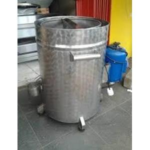Pengering Minyak Mesin Spiner Keripik Muat 25 Kg