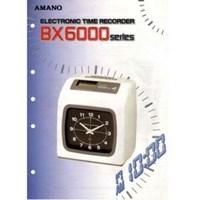 Jual Mesin Absensi Merk Amano Tipe BX6200   2