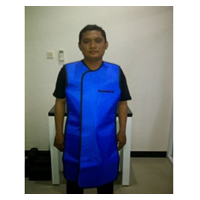 Baju Apron X-Ray Tanpa Lengan