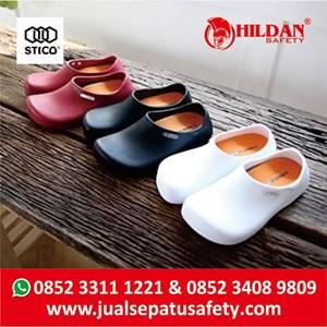 From  Sepatu Koki Dapur - Safety Shoes Merk STICO Sepatu Chef Warna Hitam NEC03 2