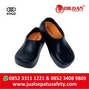 From  Sepatu Koki Dapur - Safety Shoes Merk STICO Sepatu Chef Warna Hitam NEC03 5