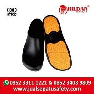From  Sepatu Koki Dapur - Safety Shoes Merk STICO Sepatu Chef Warna Hitam NEC03 3