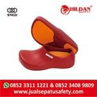 Safety Shoes Merk STICO Sepatu Chef Warna Merah Sepatu Koki Dapur - NEC03 1