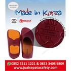Safety Shoes Merk STICO Sepatu Chef Warna Merah Sepatu Koki Dapur - NEC03 3