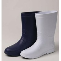 Sepatu Boots Koki Dapur Merk STICO Anti Slip WBM-02 Navy  1