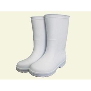 Sepatu Safety Shoes Boots Koki Dapur Merk STICO Anti Slip WBM-02 Putih
