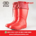 Sepatu Koki Boots STICO WBM 21 - Red Cold Storage 1