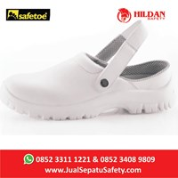 Jual  Sepatu Safety Merk Safetoe Debra White NEW - L 7096 Putih 2