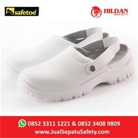 Distributor  Sepatu Safety Merk Safetoe Debra White NEW - L 7096 Putih 3