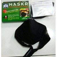 Masker Pendek  Karbon Aktif merk MASKR Grosir