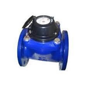 Water Meter Merk AMICO Cast Iron CI Large 3 Biru