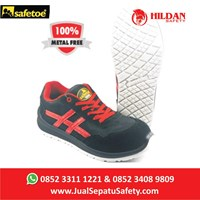 Jual Safety Shoes Sport Safetoe BETEL GEUSE - Type L 7329 Merah 2