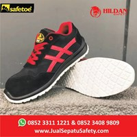 Safety Shoes Sport Safetoe BETEL GEUSE - Type L 7329 Merah 1