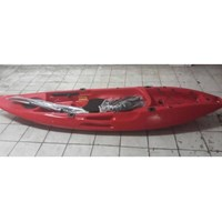 Jual Perahu Kayak Single Warna Merah PK-03 Hildan Safety
