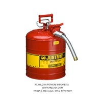 Jual Justrite Red - 7250130 Safety Can di Indonesia