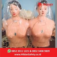 Boneka Edukasi APM 04- Hildan Safety Phantom Treacastomy Half Body