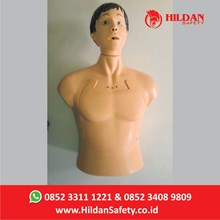 Boneka Phantom Alat Peraga Kesehatan APM05 Hildan Safety Half Body CPR