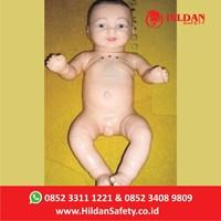 Phantom Bayi Kebidanan CPR APM 08 - Hildan Safety RJP Full Silicon