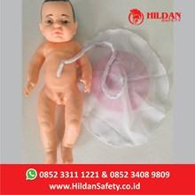 Boneka Edukasi Bayi Placenta APM10 Hildan Safety Alat Peraga Kebidanan