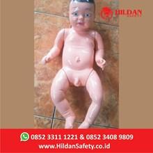 Boneka Edukasi APM13 Hildan Safety Phantom Bayi Keperawatan Fiberglass