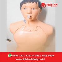 Alat Peraga Intubasi CPR Formalitas APM 29 Hildan Safety - Alat Bantu Pria Half Body - Boneka Phantom Edukasi
