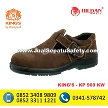 Sepatu Safety Shoes King Type KP 909 KW Coklat