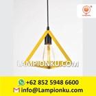 L-653 Kap Lampu Import Segitiga Hias Minimalis  3