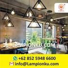 L-653 Kap Lampu Import Segitiga Hias Minimalis  1