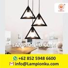 L-653 Kap Lampu Import Segitiga Hias Minimalis  6