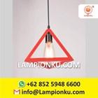 L-653 Kap Lampu Import Segitiga Hias Minimalis  2