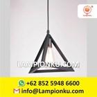 L-653 Kap Lampu Import Segitiga Hias Minimalis  4