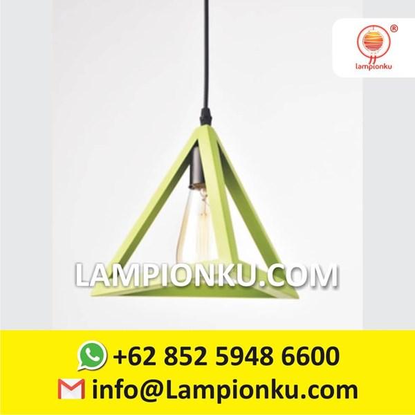L-653 Kap Lampu Import Segitiga Hias Minimalis