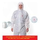 3M Protective Coverall Baju Safety White Type 4515 Perlengkapan Keselamatan Kerja 2