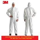 3M Protective Coverall Baju Safety White Type 4515 Perlengkapan Keselamatan Kerja 1