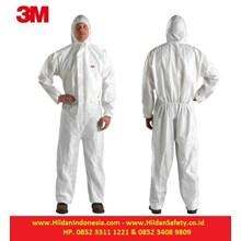 3M Protective Coverall Baju Safety White Type 4515 Perlengkapan Keselamatan Kerja