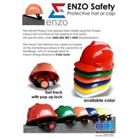 Jual Helm Safety Proyek Merk ENZO Topi Kerja Safety Helmet