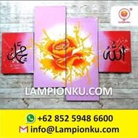 Jual Lukisan KALIGRAFI Dinding Indah dan Unik Handmade