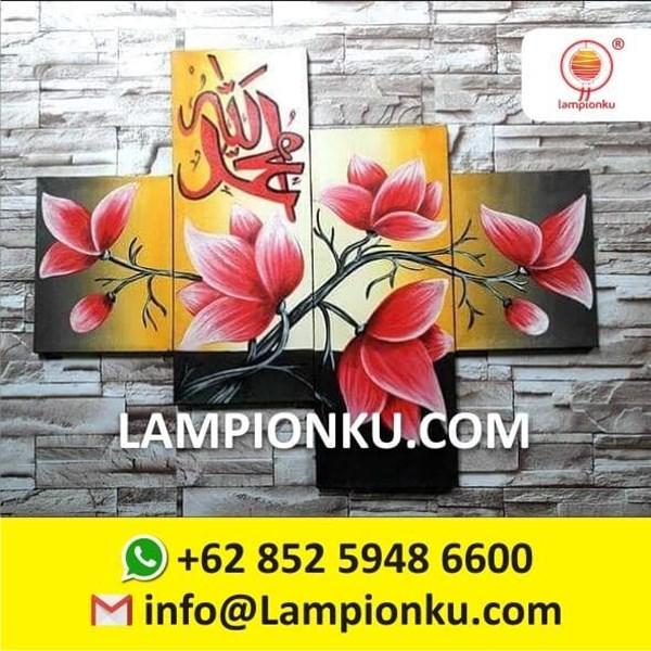 Lukisan KALIGRAFI Dinding Indah dan Unik Handmade