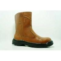 Sepatu Safety King Arthur Coklat - Hitam Tinggi di Jakarta 1