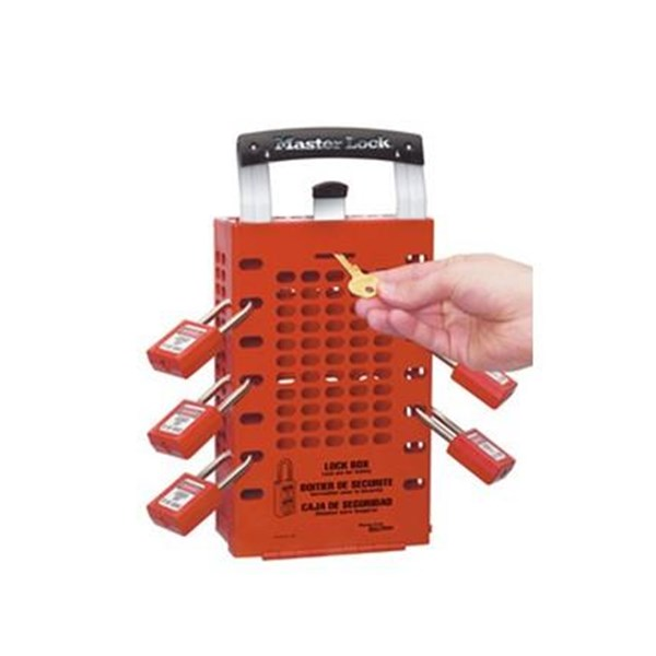 Gembok Master Lock 503 Red Portable GROSIR