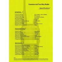 Jual  HT - Handy Talky SME 338 UHF 400 - 470 MHZ Murah 2