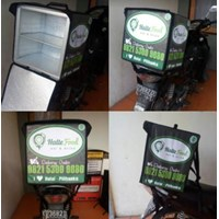 Jual Tas Delivery Box TDB 01 Tas Obrok Kurir Motor